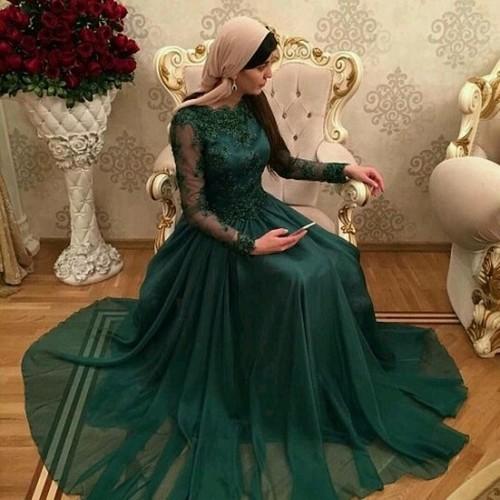 Muslim Evening Formal Gown