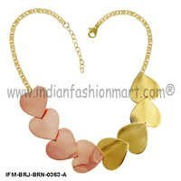 Love Cavalcade - Brass Necklace
