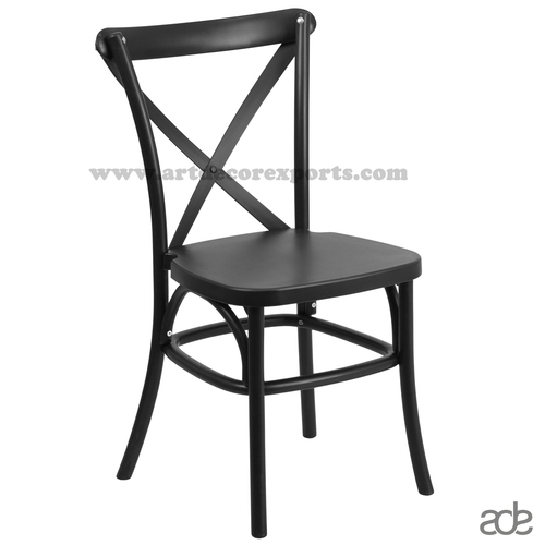 Industrial Black Chair