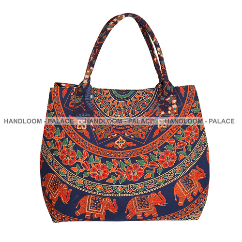 100% Cotton Shoulder Handbags