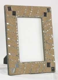 GRAY MIROR PASTING PICTURE FRAME
