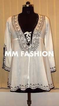 Designer Embroidered Ladies Kurtis