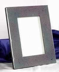 GRAY STONE PICTURE FRAME
