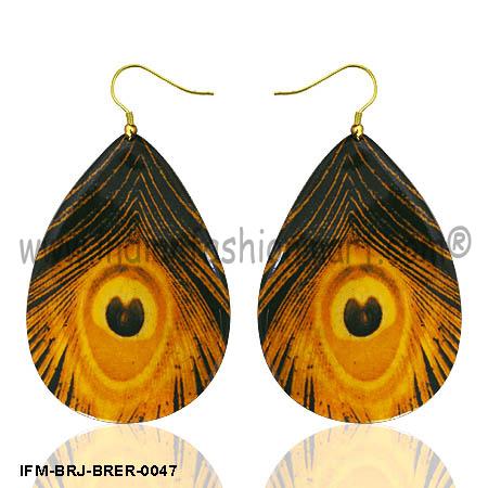 Sensual Peccadillo  - Brass Earrings