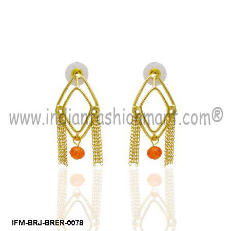 Omnium Darling  - Brass Earrings