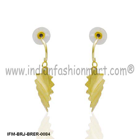 Eyesome  Agile - Brass Earring