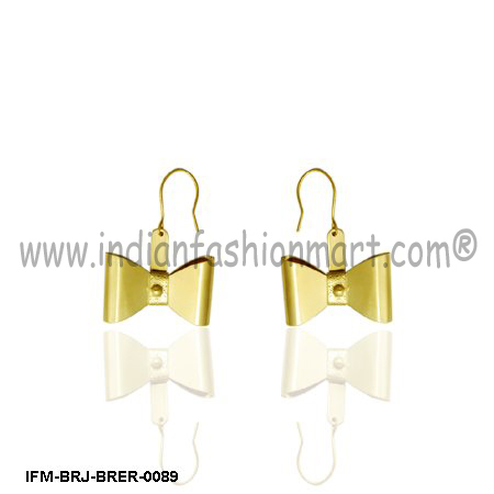 Noble  Eutaxy - Brass  Earrings