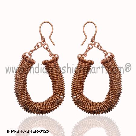 Ogle Treasure-Copper Earrings