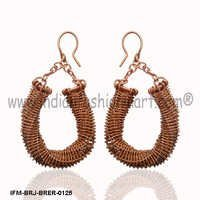 Ogle Treasure-Copper Earrings
