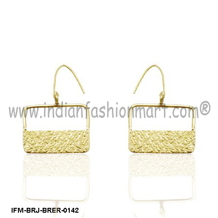 Savoir-faire of Passion - Brass Earrings