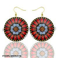 Damyanti - Rangoli Earrings