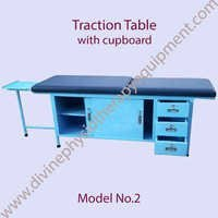 Traction Table with cupboard