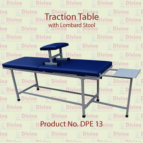 Traction Table with Lombard Stool