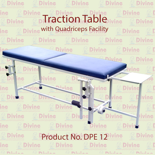 Traction Table with Quadriceps Chair