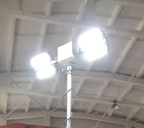 Fire Truck Mount LED Telescopic Light Mast
