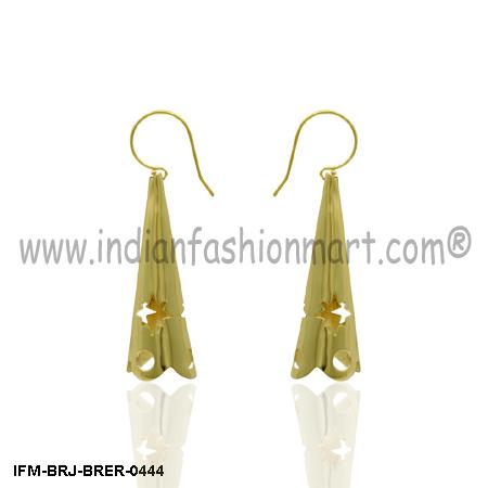 Sybaritic Joy  - Brass Earring