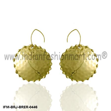 Sockdolager Siren - Brass Earrings