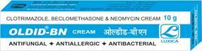 Clotrimazole, Beclomethasone & Neomycin Cream