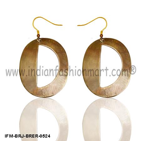 Dear n Honey  -Brass Earrings
