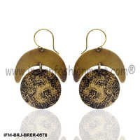 Whigmaleerie Ethereal  - Brass Earring