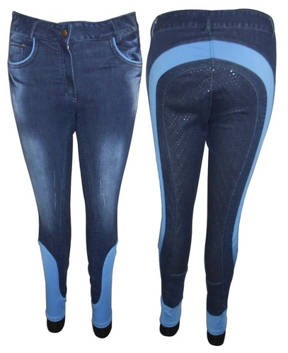 Denim full silicon grip breech