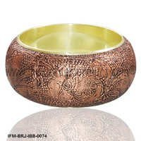 Hotsy Belinda - Brass Bangle