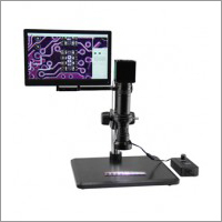 LED Digital Stereo Zoom Microscope