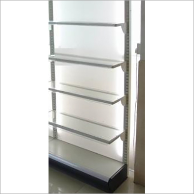 Side Wall Glass Shelves Rack