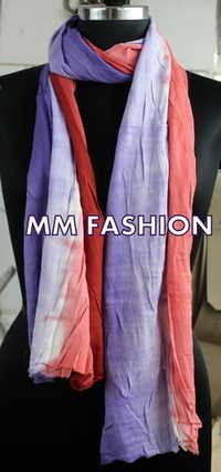 DOUBLE COLOR SCARVES