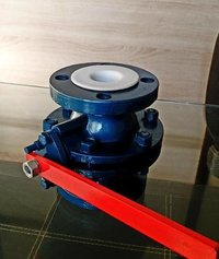 MS PTFE Lined Ball Valve