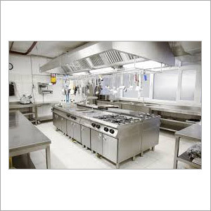 Designer Steel Commercial Kitchen