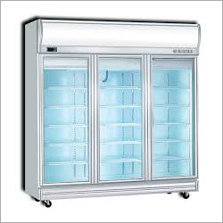 Glass Beverage Deep Freezer