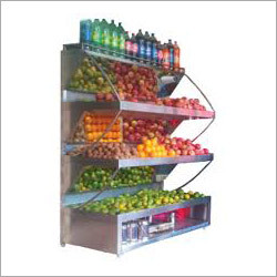 Fresh Fruit Display Counter