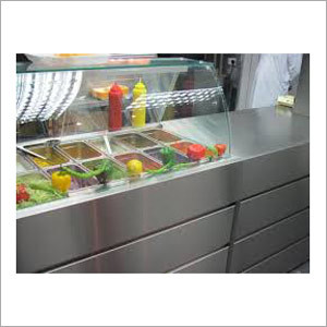 Stainless Steel Food Display Counter