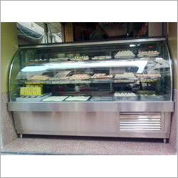 Steel Sweets Display Counter
