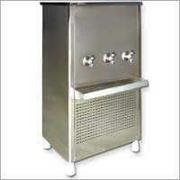 Three Tap Steel Water Cooler