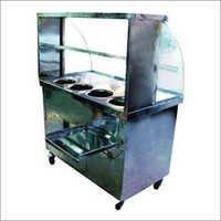 Steel Burner Display Counter