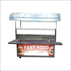 Steel Fast Food Display Counter