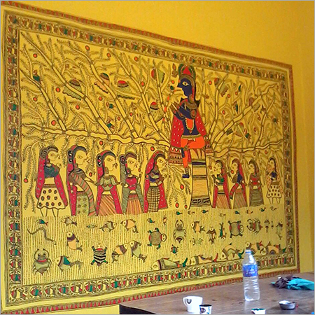 Madhubani On Wall