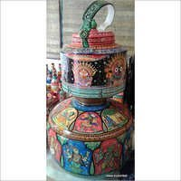 Pattachitra Kettles Containers