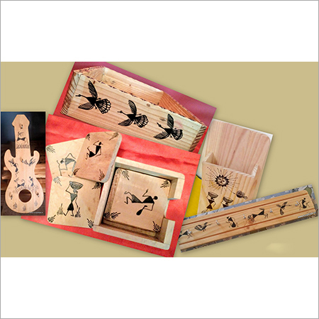 Warli Wooden Utilities