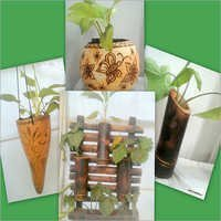 Planters Tuma and Bamboo Craft