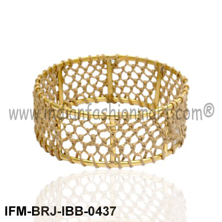Corybantic Rakish - Brass Bangle