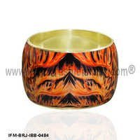 Renewal of Firestorm - Decaling Art Bangle