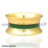 Jocular Tickety-Boo  - Brass Bangle