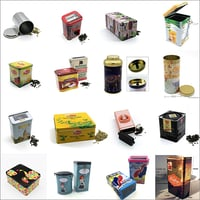 Coffee Tin Box