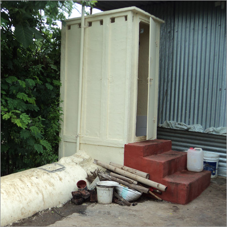 Readymade Toilet With Septic Tank
