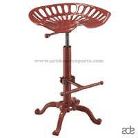 Tractor Seat Bar Stool in Brown