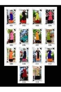ladies flavour slab cotton kurtis