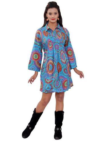 Printed Resort Dress